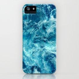 Ocean is shaking iPhone Case