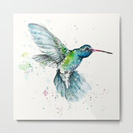 Hummingbird Flurry Metal Print