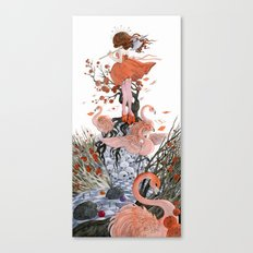The Queen of Hearts Canvas Print