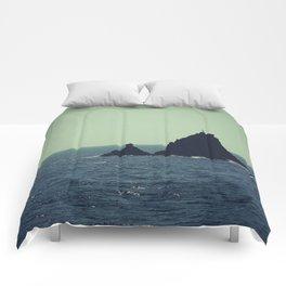 Santorini, Greece 12 Comforters