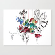 All there Canvas Print