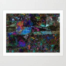 pattern six Art Print