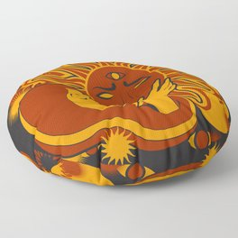Sunworship Floor Pillow