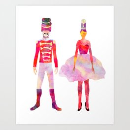 Nutcracker Ballet Kunstdrucke