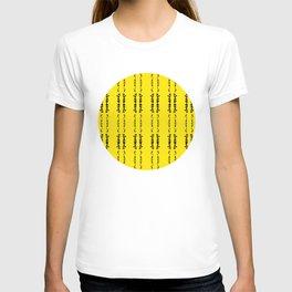 Minimal Punk Splash T-shirt