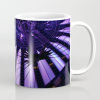 surrealism Mugs featuring City Surrealism by Notions