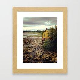 Squamscott River  Framed Art Print