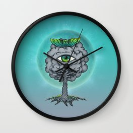 The Trees are Watching! Wall Clock