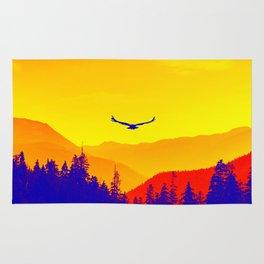 Flight or Fire Rug