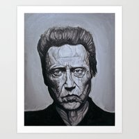 christopher walken Art Prints featuring Christopher Walken by Steenk