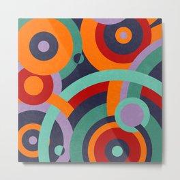 Colorful circles II Metal Print
