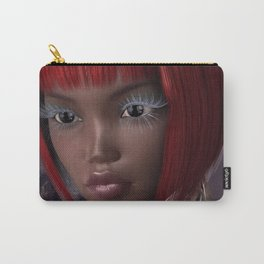 Oriental Eyes Carry-All Pouch