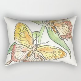 Butterfly Tango Rectangular Pillow