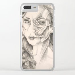 I Turn Myself Inside Out (Tori Amos) Clear iPhone Case