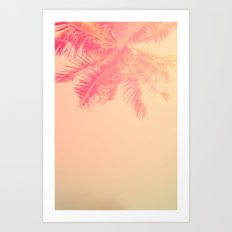 Pattern for palm Art Print