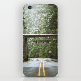 Sign, Mt. Rainier iPhone Skin