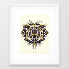 bear Framed Art Print