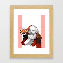 Marx Framed Art Print