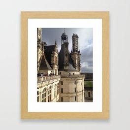 Chateau Chambord Framed Art Print