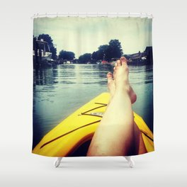 Kayak 1 Shower Curtain
