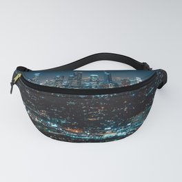 Los Angeles Skyline By Night United States Ultra HD Fanny Pack