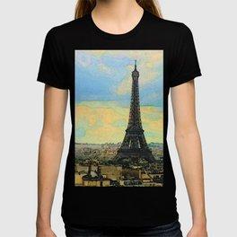 Watercolor Dream of Paris T-shirt