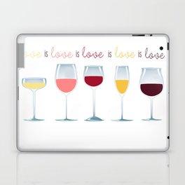 Love is Love is Love is Wine Laptop & iPad Skin