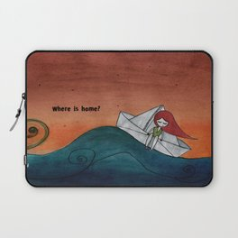 Where is home? Laptop Sleeve