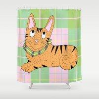 pee wee Shower Curtains featuring Wee Jock by Wee Jock