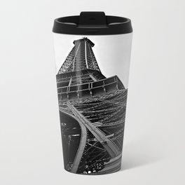 the Eiffel tower Metal Travel Mug