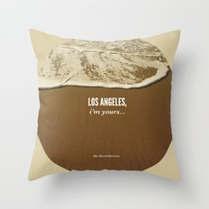 Los Angeles, I'm Yours Throw Pillow