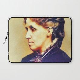 Louisa May Alcott, Literary Legend Laptop Sleeve