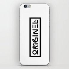 Originel noir iPhone & iPod Skin