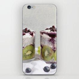 chia pudding iPhone Skin