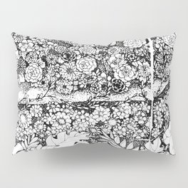 Anatomy Series: Skin Flowers Pillow Sham
