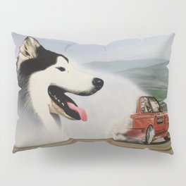 Andy Hateley and Wolf Gonzo Pillow Sham