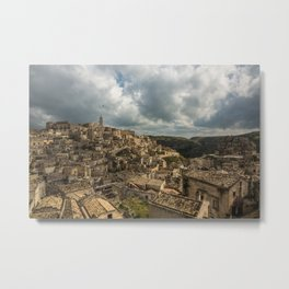 Italian landscapes - Matera Metal Print