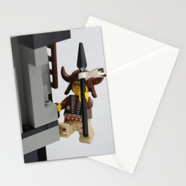 Lego Indian climbing Stationery Cards