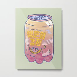 Lucky Feelings Metal Print