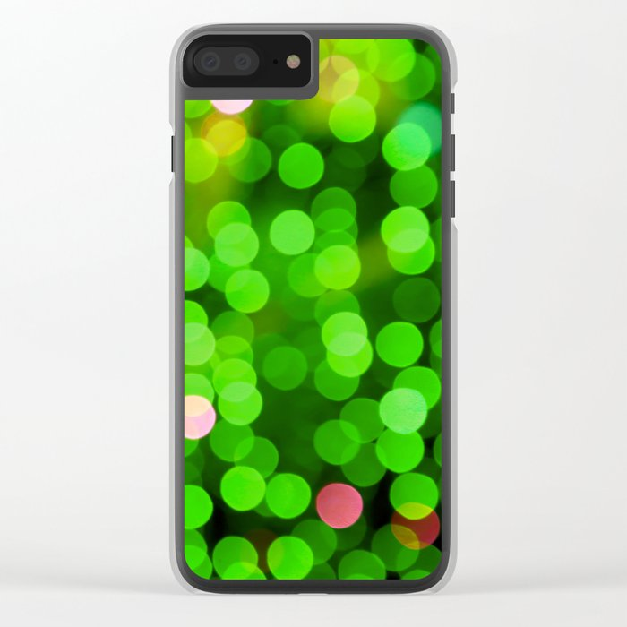 Fresh Mint Summer Clear iPhone Case