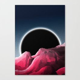 An event horizon Canvas Print