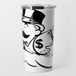 Money man Travel Mug