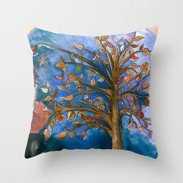 Surprising Beauty  Throw Pillow