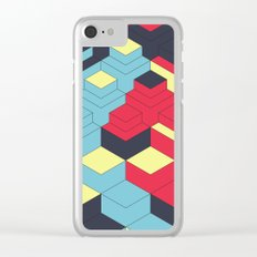 Two Sides A + B Clear iPhone Case