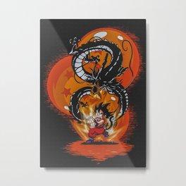 Dragon Ball Kid Metal Print