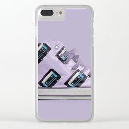 Retro on Retro Clear iPhone Case
