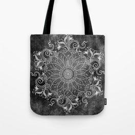 Mandala - Coal Tote Bag