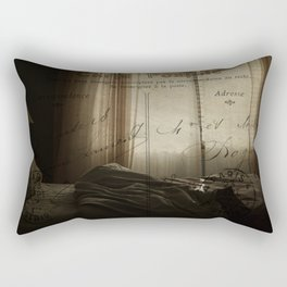 Waking up in Paris Rectangular Pillow
