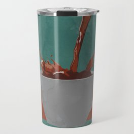 Caffeine splash Travel Mug