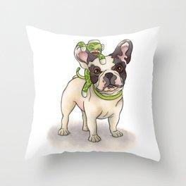 Bubba & Monkey Throw Pillow